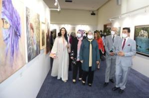 """Rabat : exposition sous le signe """" l'art au service d'une cause noble """""""
