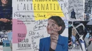 «Retourne au Maroc»… Tags racistes à l'encontre de Najat-Vallaud Belkacem en France