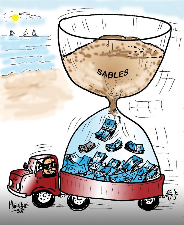 Des plages disparaissent à cause du business des voleurs de sable…!