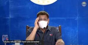 Vaccin ou prison ? Les philippins devront choisir