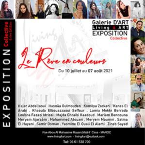 """Living 4 Art organise l'exposition """" le rêve en couleurs"""""""
