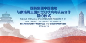 Le vaccin chinois 'made in Maroc'