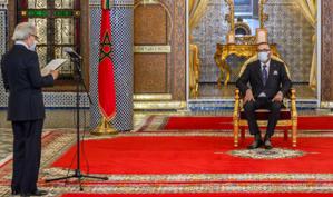 Wali Bank Al-Maghrib devant SM le Roi
