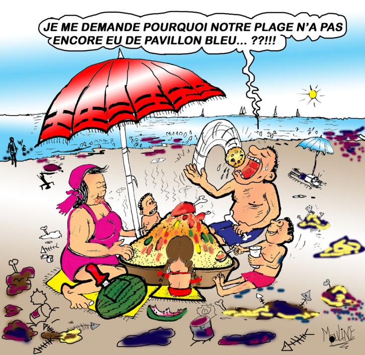 Été 2021: 29 plages non conformes à la baignade