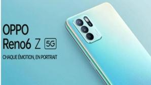 """La 5G arrive bientôt chez Oppo avec le nouveau smartphone """" Reno6 Z """""""
