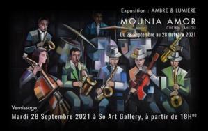 """So Art Gallery accueille """"Ambre & Lumière"""" de Mounia Amor"""