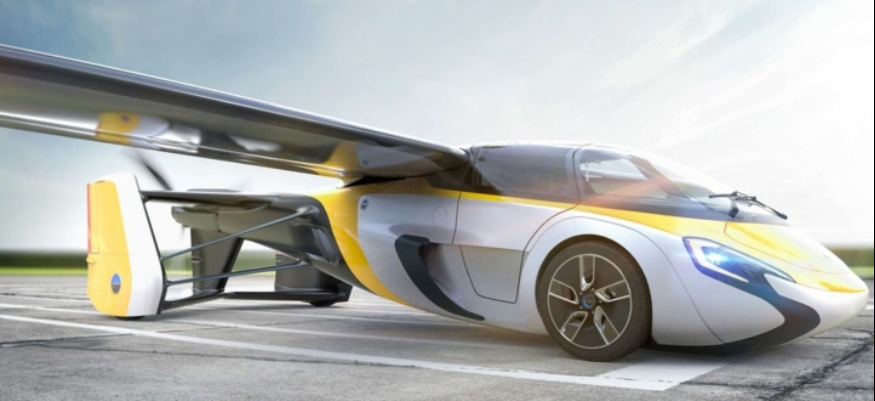 Start-up : Commercialisation d'une voiture volante à partir de 2023