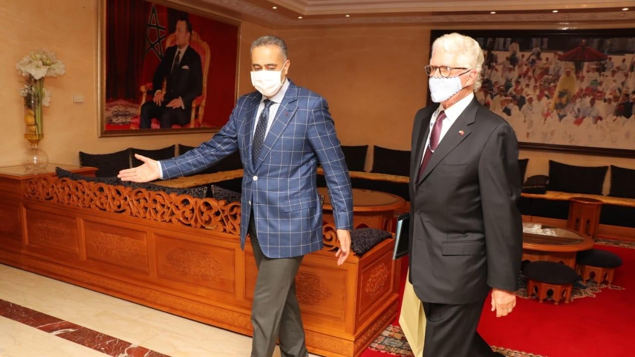Hammouchi reçoit l'ambassadeur des Etats-Unis au Maroc