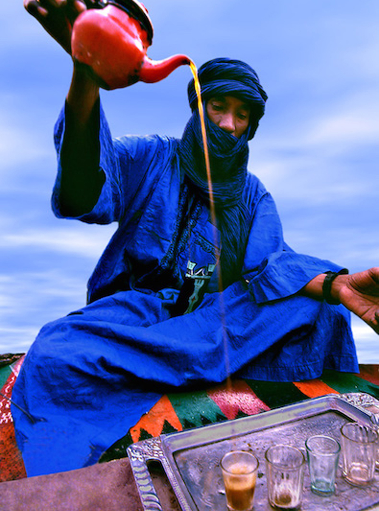 Thé au Sahara