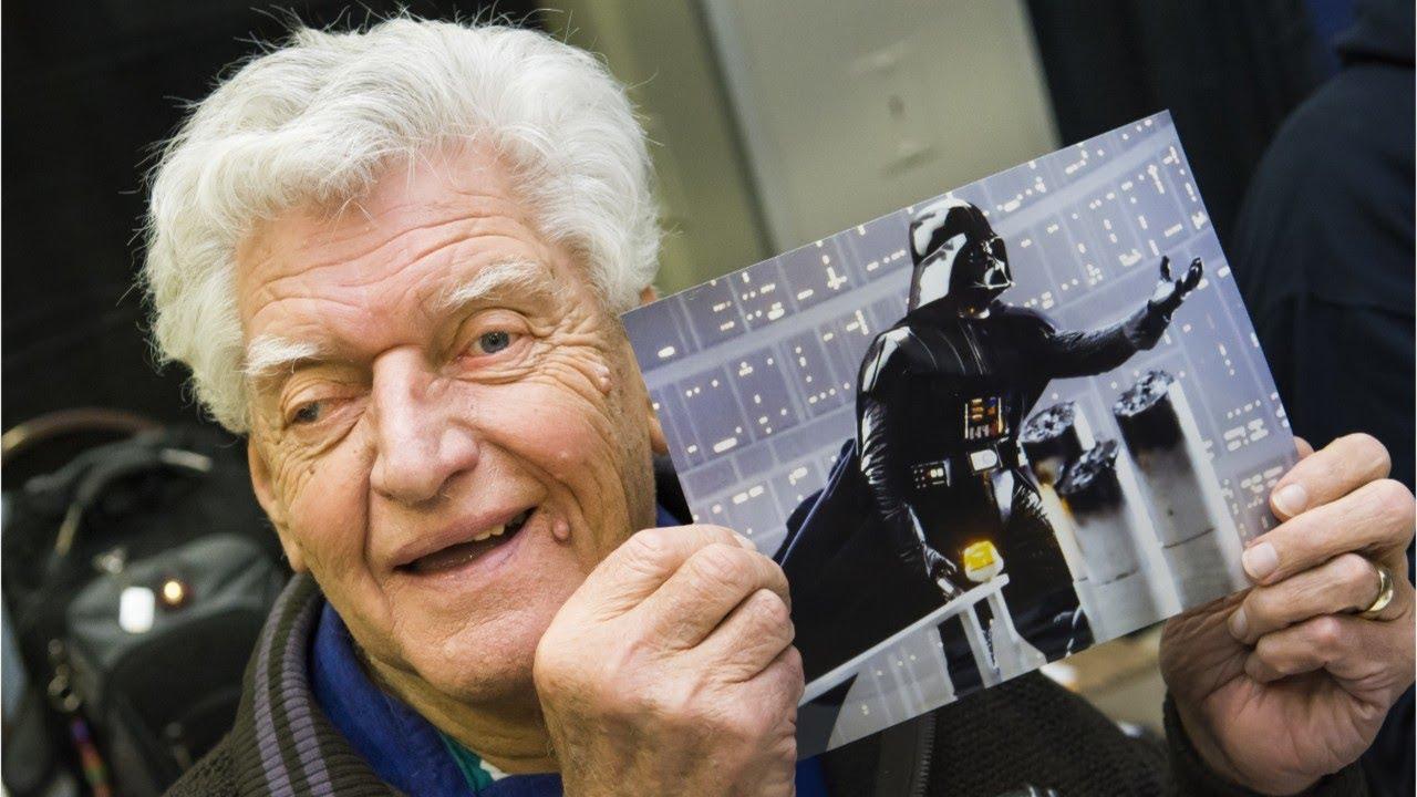 Star Wars : Dave Prowse, l'acteur qui a incarné Dark Vador, est mort