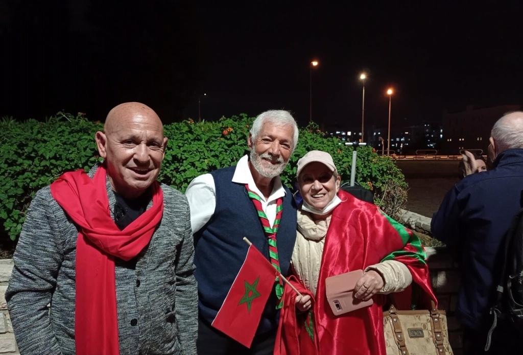 Marocains juifs d'Israël manifestant pour la marocanité du Sahara à Ashdod