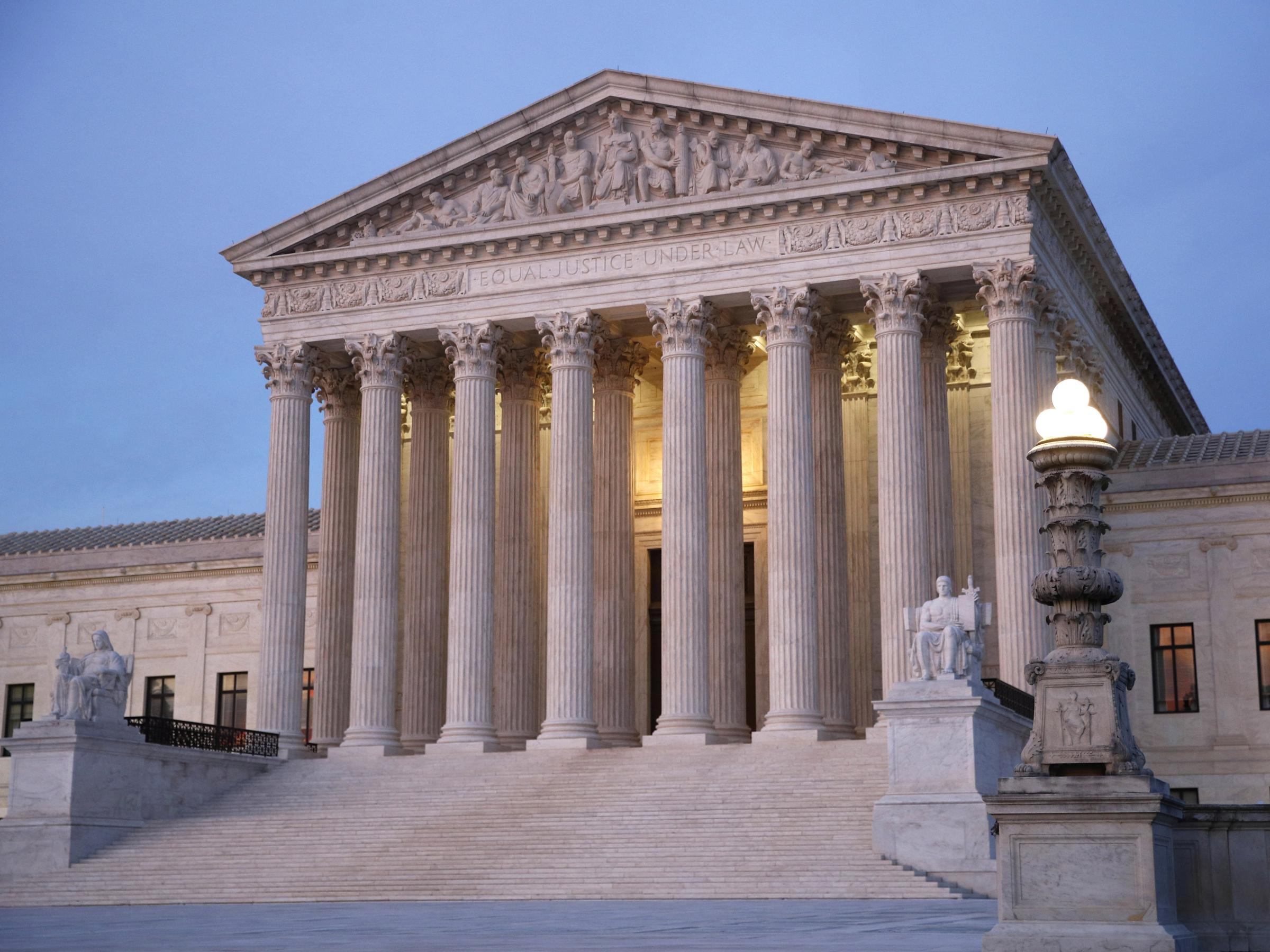 Siège de la Cour suprême des Etats-Unis à Washington