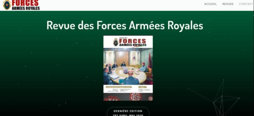 Les FAR publient leurs revues sur leur nouveau site