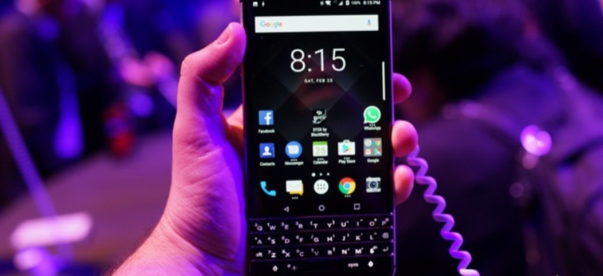 Blackberry de retour avec un nouveau smartphone