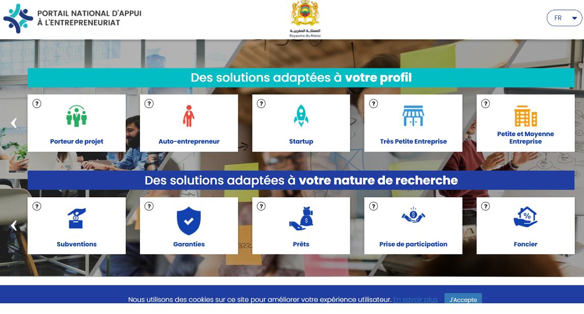 Un portail pour l'entrepreneur marocain