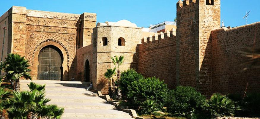 Qasbah des Oudayas : le café Maure, sera beau et plus fort
