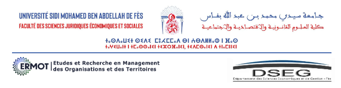 """ERMOT organise son premier colloque international sous le thème : """"Le management face aux contextes émergents des organisations"""""""