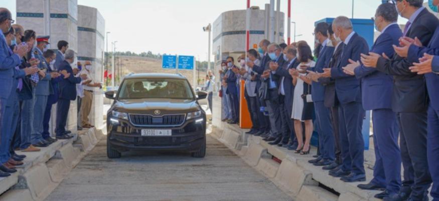 Inauguration de 2 gares de péage, nouvelle génération à Casablanca - Berrechid