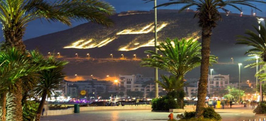 Un 1er groupe de touristes Britanniques à Agadir