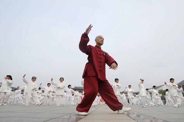 Le Taijiquan reconnu patrimoine de l'Humanité