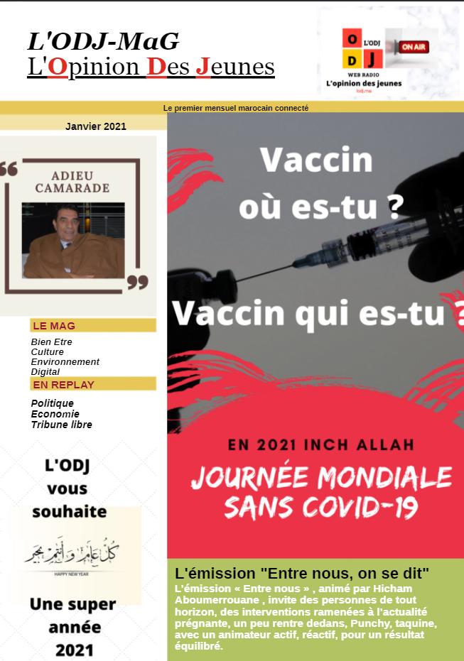 Parution de L'ODJ Web MaG Décembre 2020