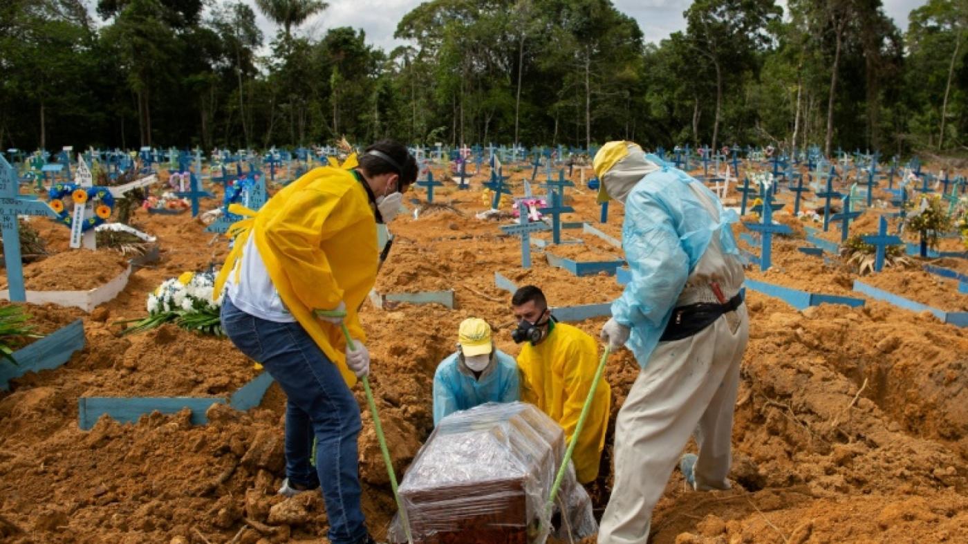 Covid-19 : Le Brésil franchit le seuil des 200.000 morts