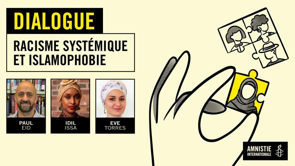Webinaire : racisme systémique et islamophobie