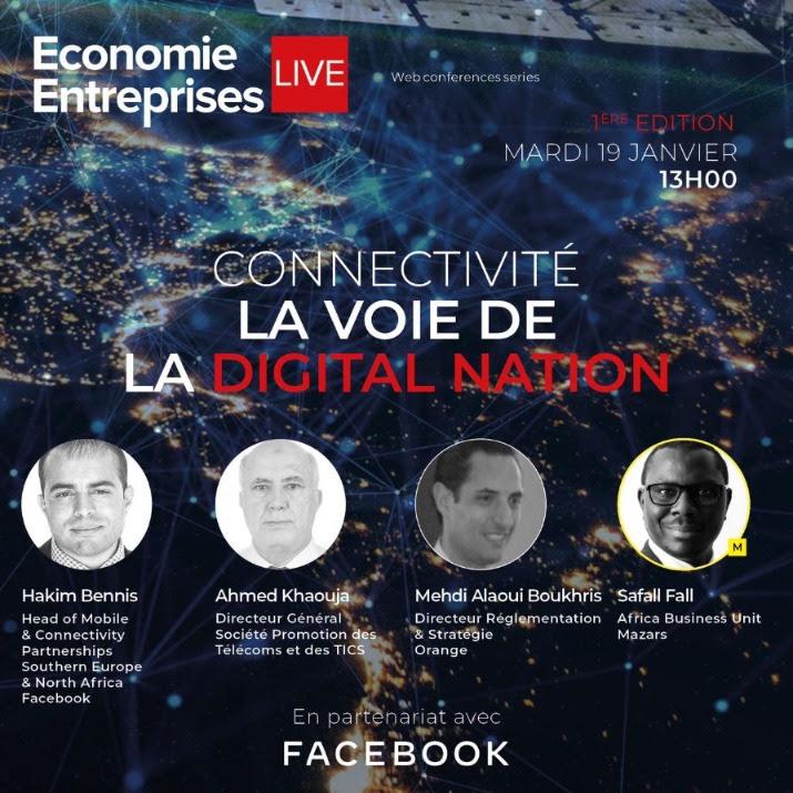"""Connectivité : La voie de la """" DIGITAL NATION """""""