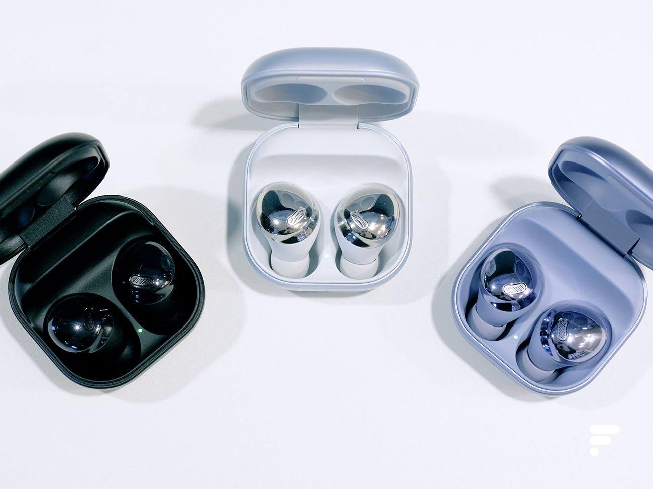 Les nouveaux écouteurs Galaxy Buds pro de Samsung