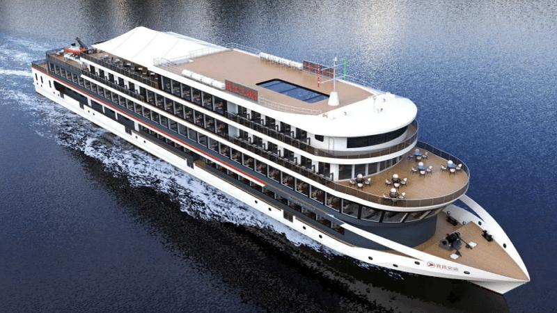 Le plus grand bateau de croisière électrique au monde
