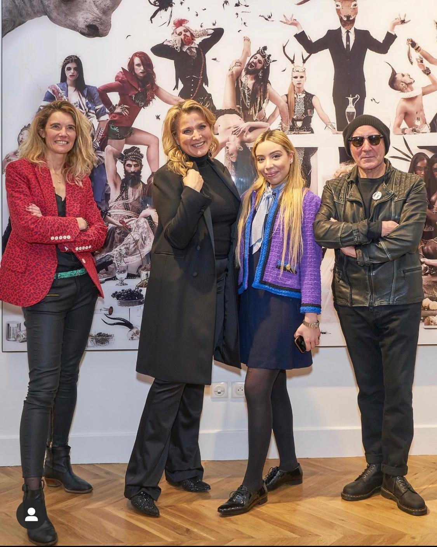 Caroline Gaudiault, Natacha Dassault, Sophia Sehimi et Gérard Rancinan