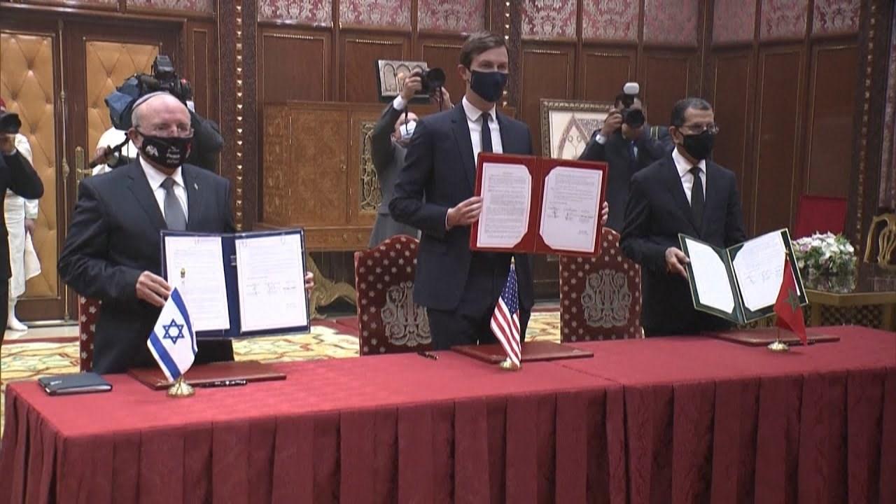Signature à Rabat de l'accord tripartite entre le Maroc, les Etats-Unis et Israël