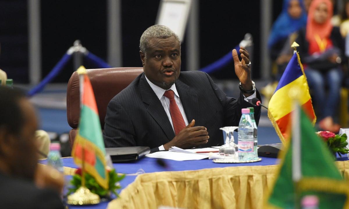 Moussa Faki Mahamat réélu à la tête de la Commission de l'UA