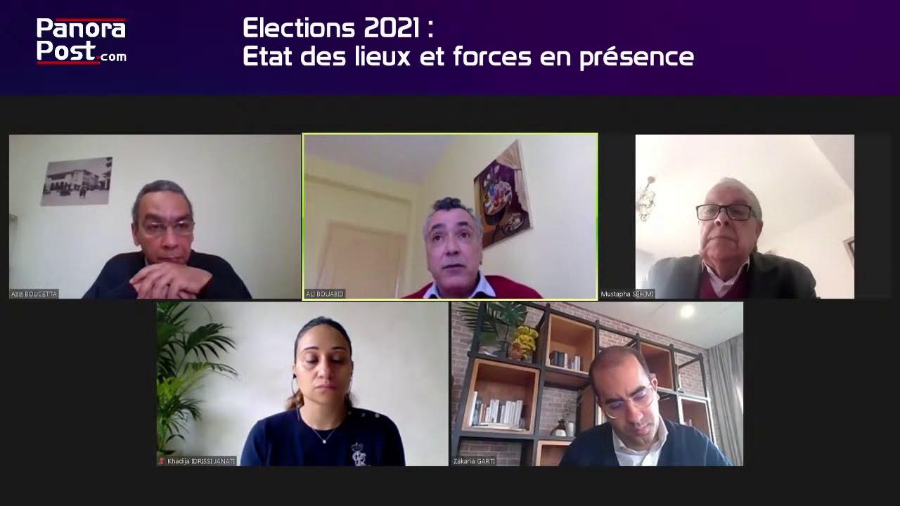 Webinaire : Élections 2021 État des lieux, forces en présence