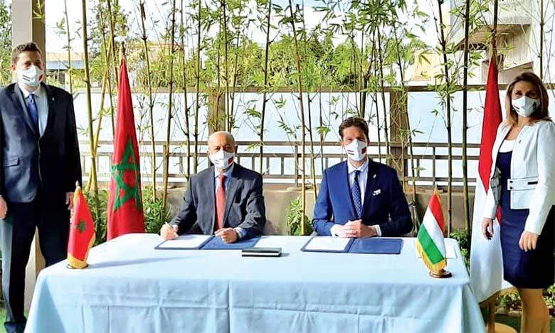 Nouveau consulat honoraire de  Hongrie à Marrakech