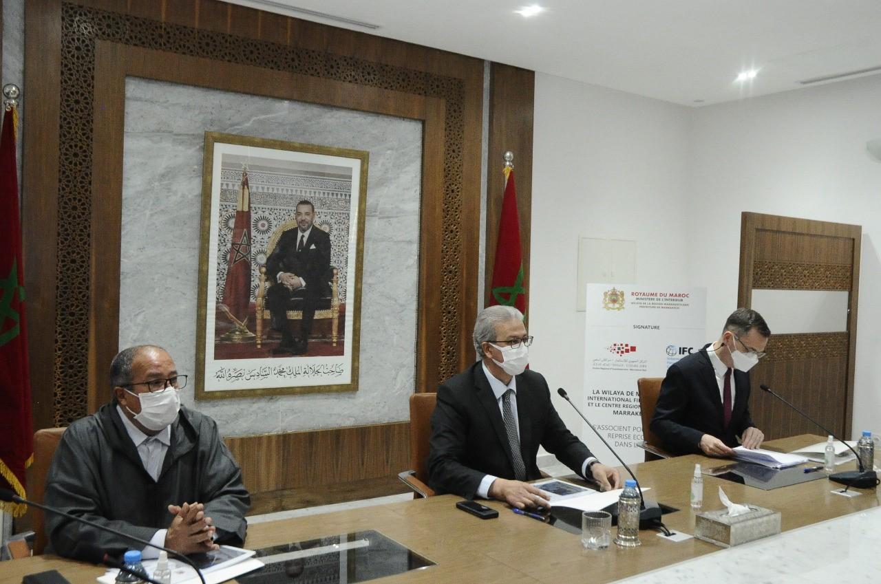 Soutenir la reprise de Marrakech et régions