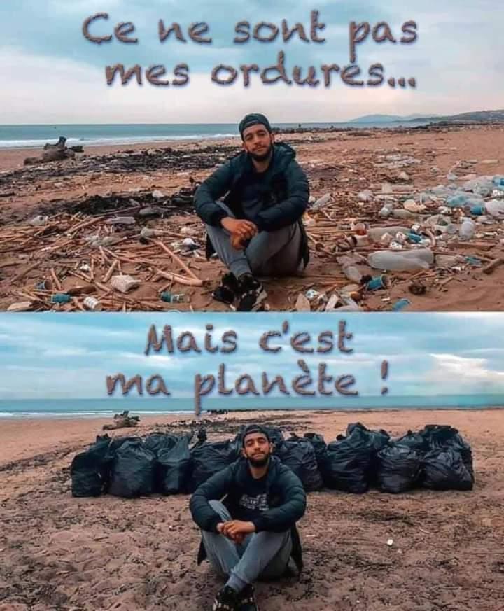 Au secours , ils vont polluer Mars !