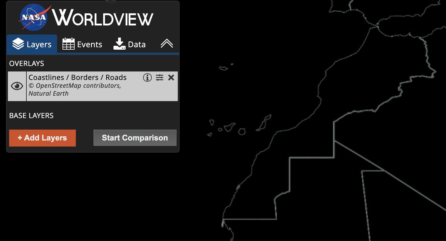 La NASA adopte la carte complète du Maroc