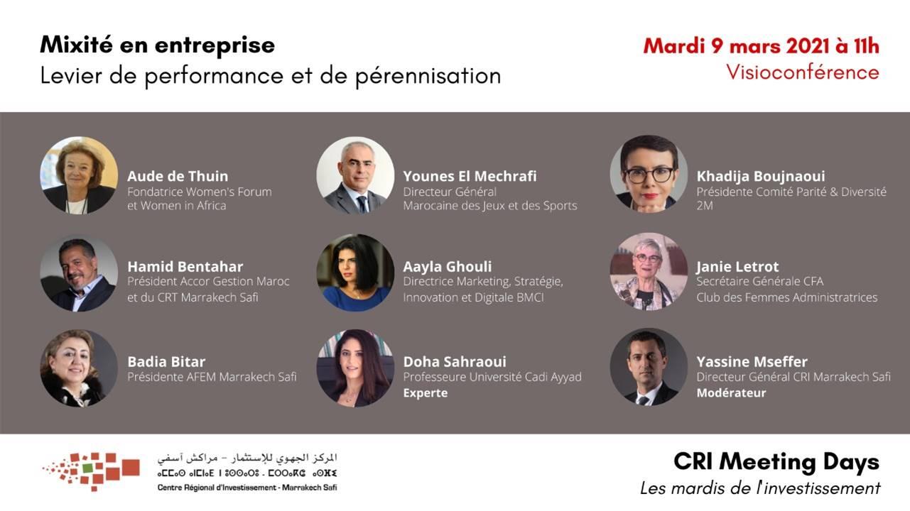 Les Meeting Days du CRI débattent de la mixité en entreprise