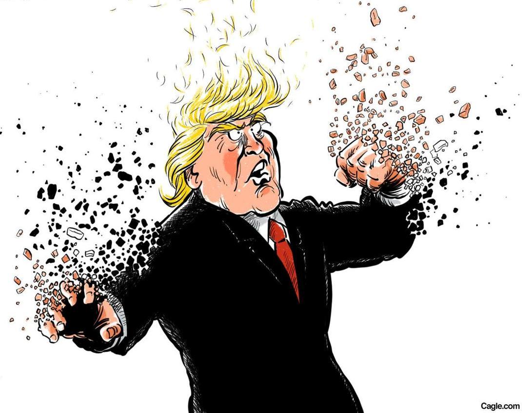 """""""Donald... quitte les esprits !"""""""