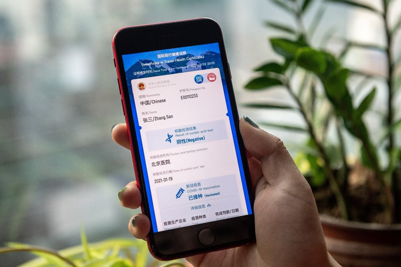 Covid-19 : la Chine lance un 'passeport santé' numérique