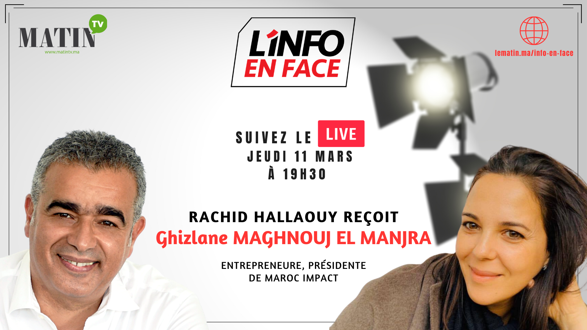 Ghizlane Maghnouj El Manjra : « Maroc Impact »