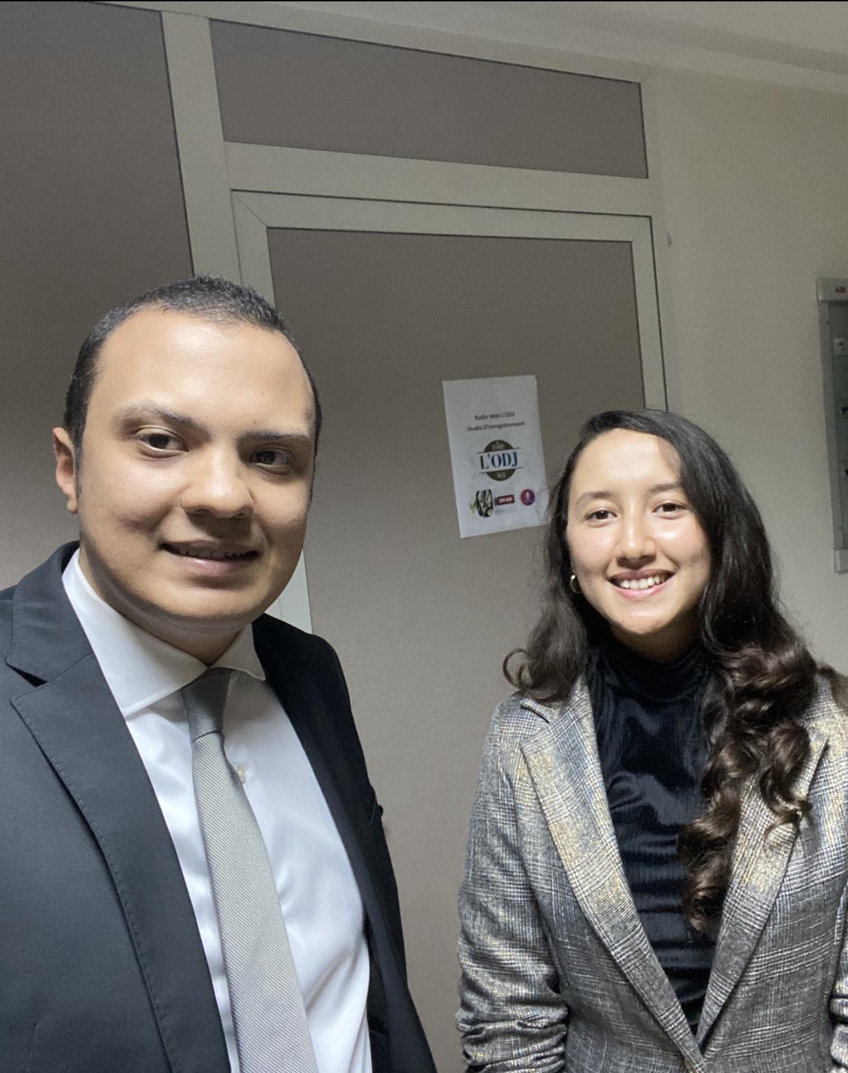 """Chaïmae Larhmaid, invitée de l'émission """" Entre nous, On se dit tout """""""