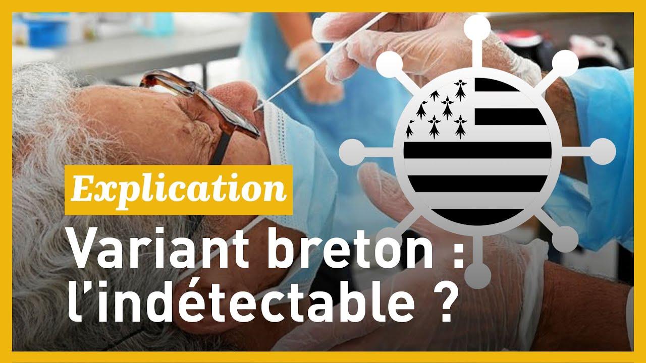 Un nouveau variant  breton non dépisté par le test PCR