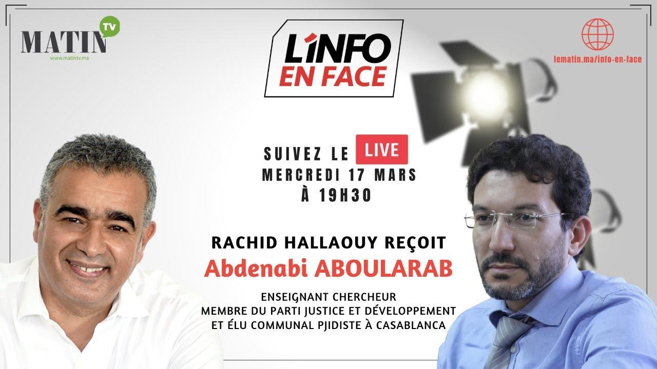 L'Info en Face avec Abdenabi Aboularab du PJD