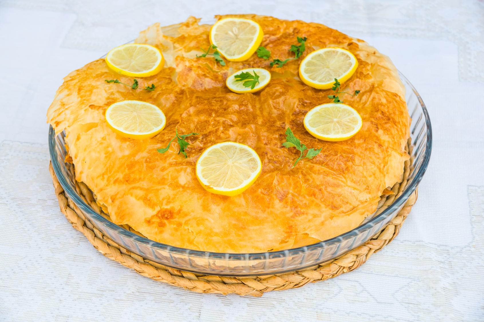 Pastilla au poisson traditionnelle