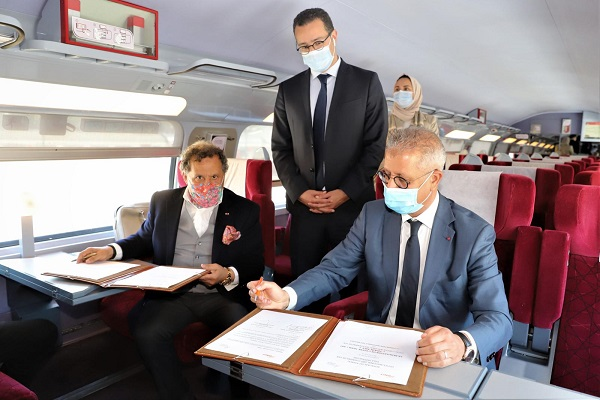 """""""Train'Art"""", le nouveau concept de voyage au Royaume"""