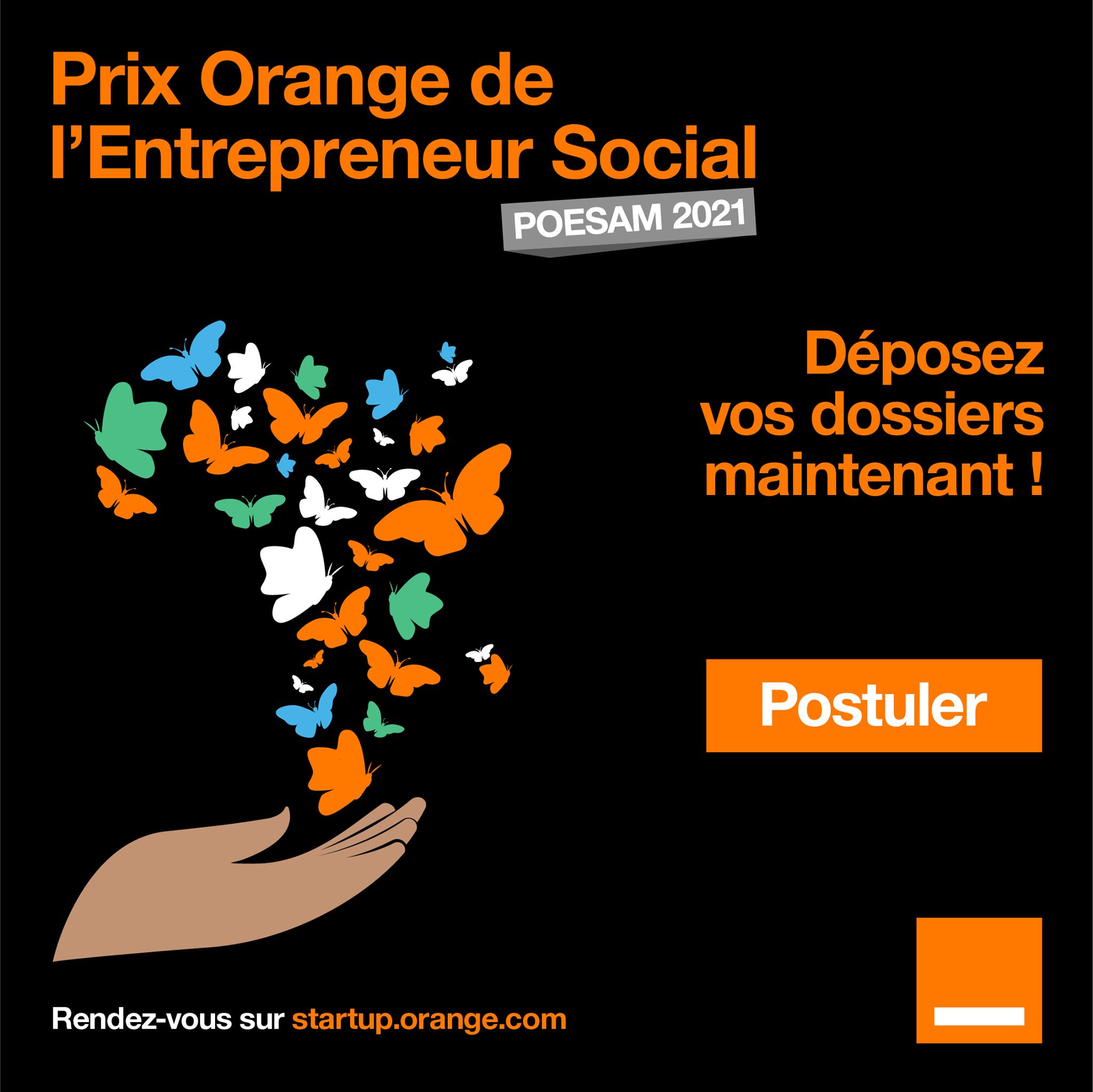 Orange: ouverture des candidatures POESAM 2021
