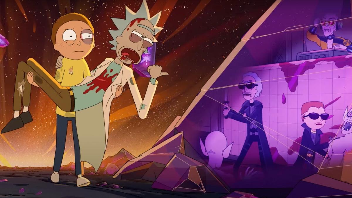Rick and Morty : la date de la saison 5 annoncée avec un trailer !