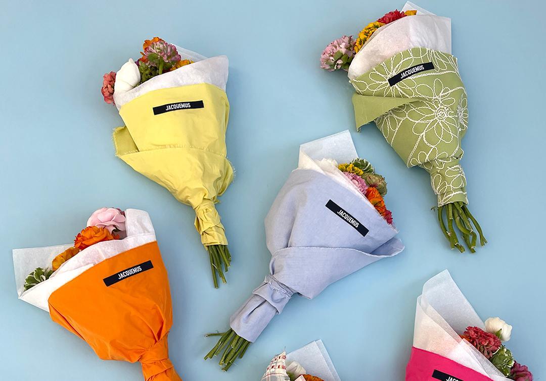 Jacquemus se lance désormais dans les bouquets